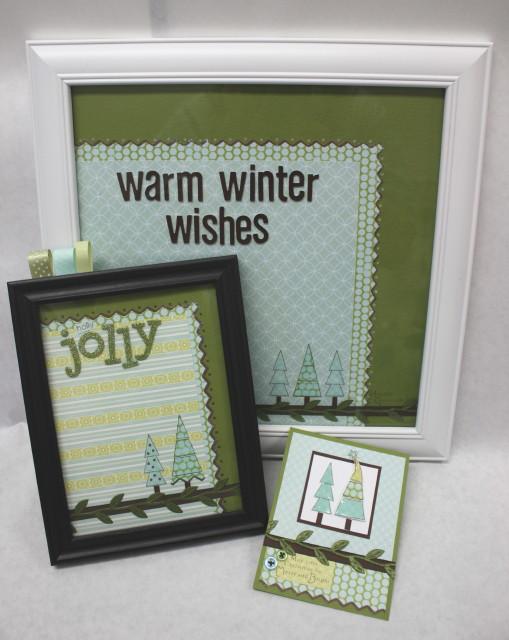 Làm khung hình giáng sinh 2012